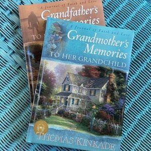 Thomas Kinkade Other - Thomas Kincade grandparent memory books